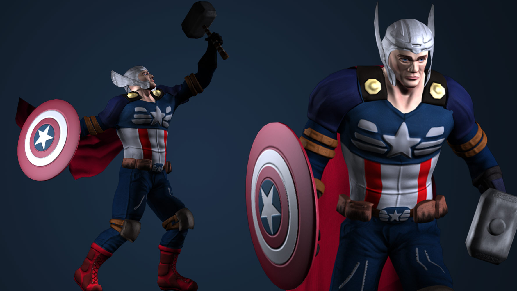 images/Captain Thor Character Design