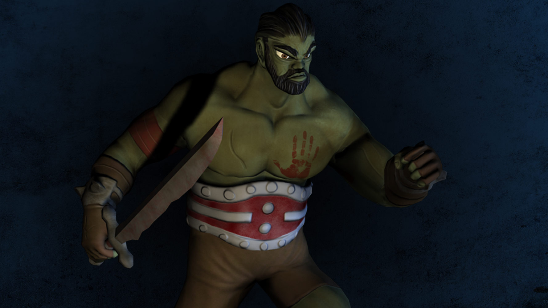 images/Orc Warrior Character