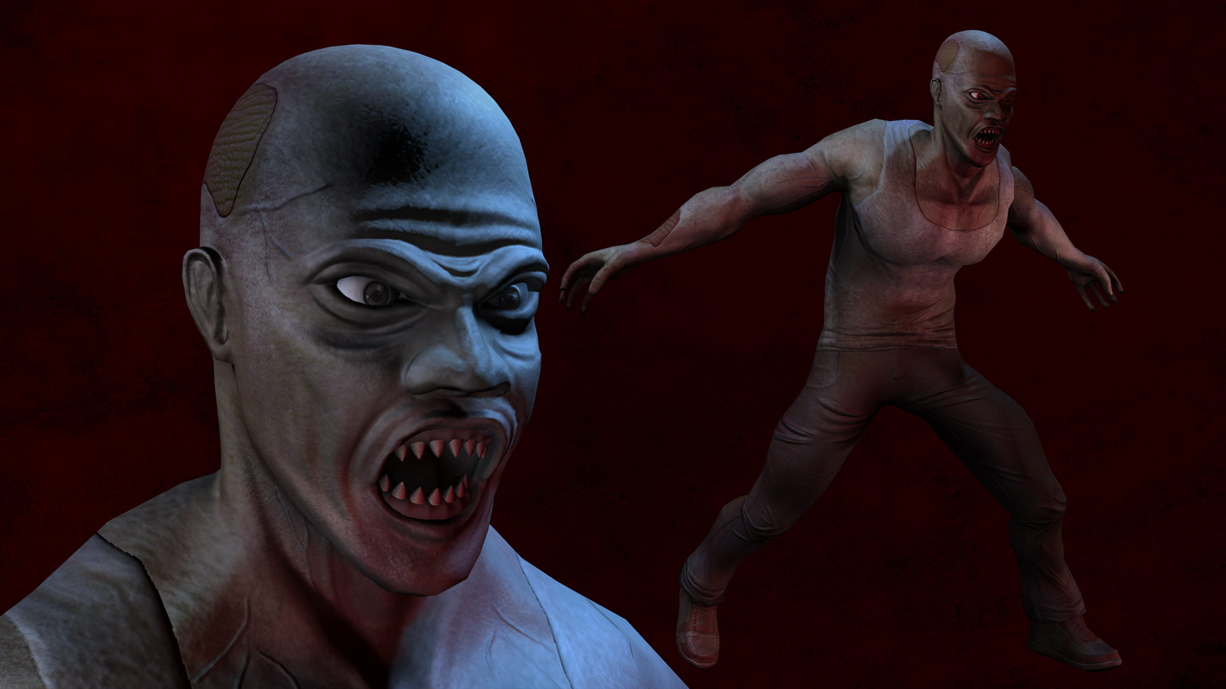 images/3D Zombie Character Design